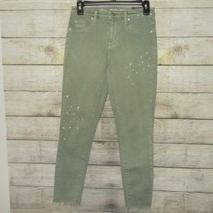 Mossimo High Rise Cropped Jeggings Size 2/…